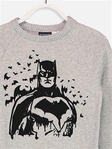 Erkek Çocuk Erkek Çocuk Batman İnce Triko Kazak