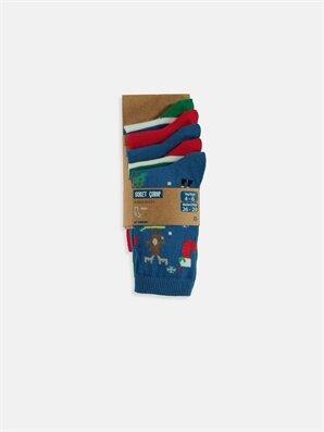 Erkek Çocuk Soket Çorap 5'li -8WI449Z4-K00