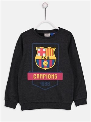 Erkek Çocuk Barcelona Sweatshirt - LC WAIKIKI