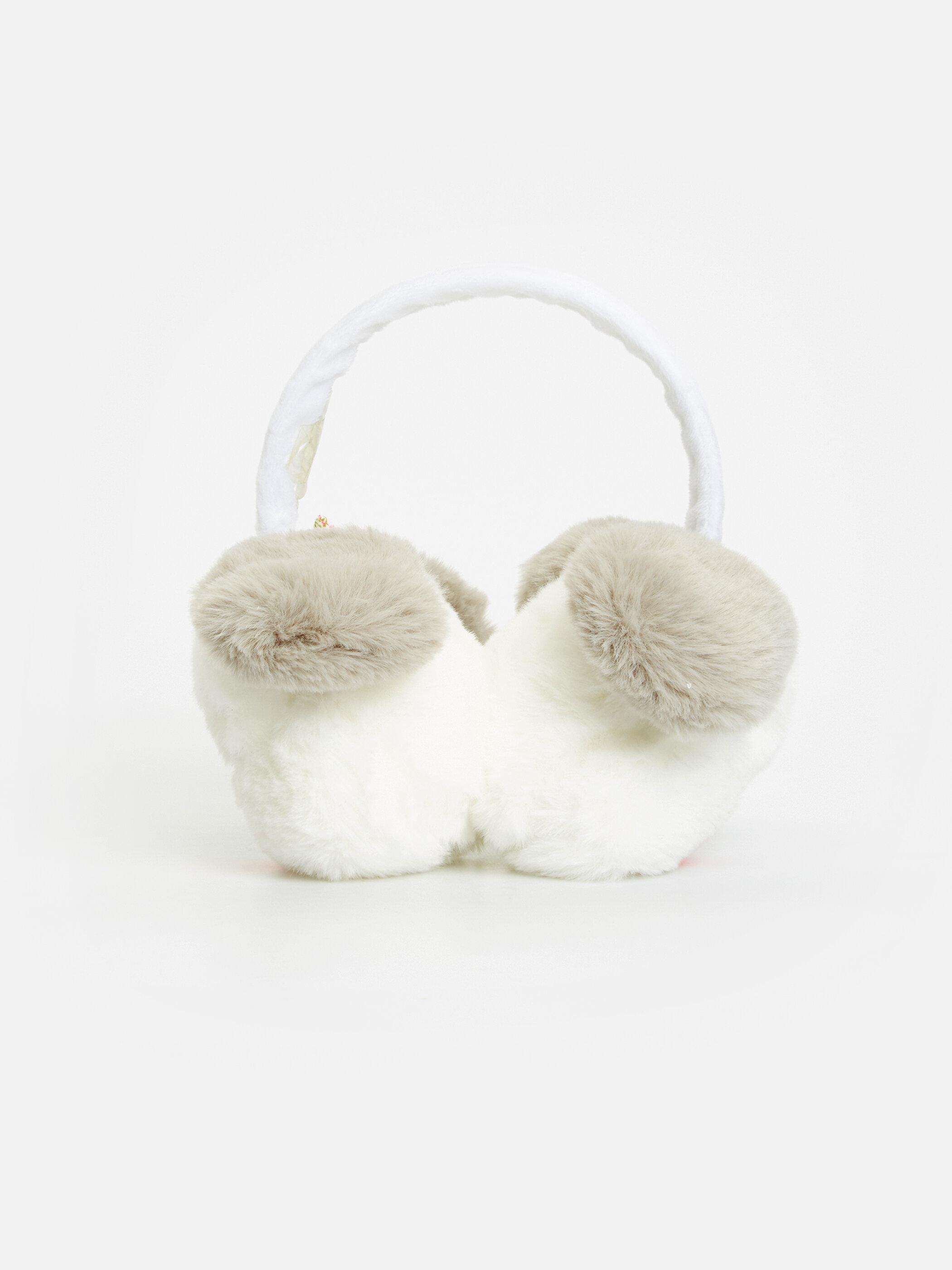 Kız Bebek Hayvan Figürlü Pelüş Kulaklık -8WM097Z4-DCS