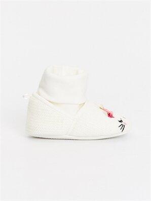 Kız Bebek Triko Ev Ayakkabısı - LC WAIKIKI