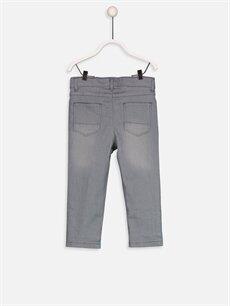 %86 Pamuk %12 Poliester %2 Elastane %49 Pamuk %51 Polyester Normal Bel Normal Erkek Bebek Jean Pantolon