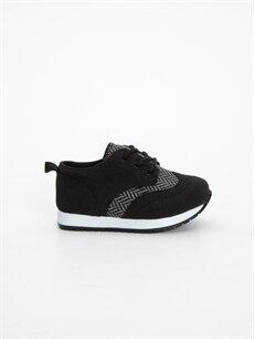 Siyah Erkek Bebek Bağcıklı Spor Ayakkabı 8W7090Z1 LC Waikiki