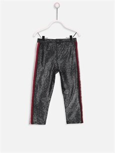 %97 Pamuk %3 Elastan Standart Normal Bel Kız Bebek Pantolon