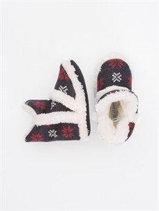 Tekstil malzemeleri Tekstil malzemeleri Terlik ve Sandalet Erkek Bebek Triko Panduf