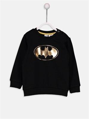 Erkek Bebek Batman Sweatshirt - LC WAIKIKI