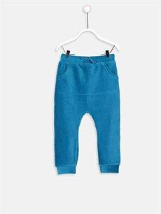 Turkuaz Erkek Bebek Kadife Pantolon 8WN586Z1 LC Waikiki