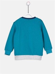 %65 Pamuk %35 Polyester  Erkek Bebek Sweatshirt