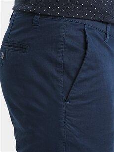 %97 Pamuk %3 Elastan Standart Kalıp Pamuklu Pantolon