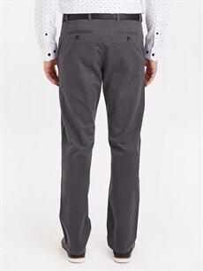 Erkek Standart Kalıp Pamuklu Pantolon