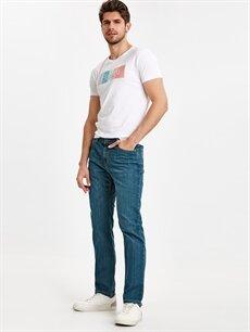 İndigo 760 Skinny Fit Jean Pantolon 9S1155Z8 LC Waikiki