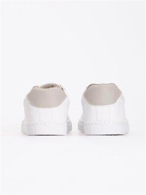 کفش رنگارنگ اسپورت سفید
