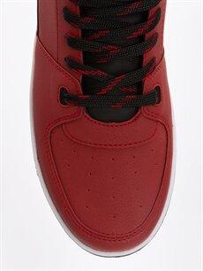 LC Waikiki Kırmızı Erkek Bağcıklı Günlük Spor Ayakkabı
