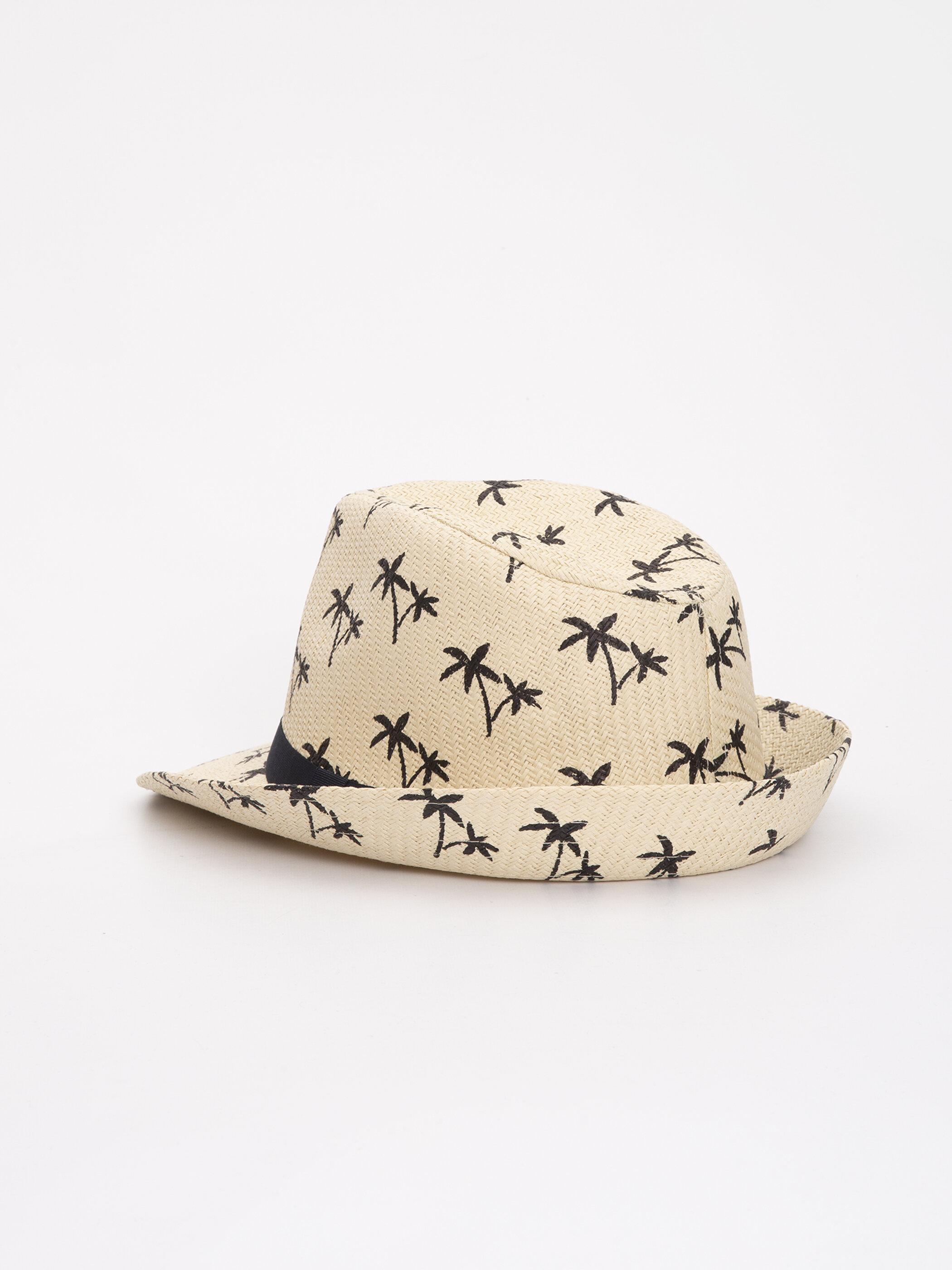 Baskılı Hasır Şapka -9S4463Z8-CR8