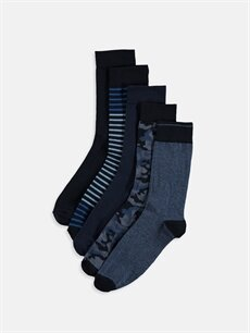 Çok Renkli Soket Çorap 5'li 9S6240Z8 LC Waikiki