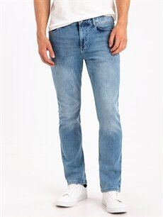 %98 Pamuk %2 Elastan Normal Jean 779 Regular Fit Jean Pantolon