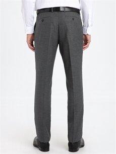 Erkek Slim Fit Gabardin Takım Elbise Pantolonu