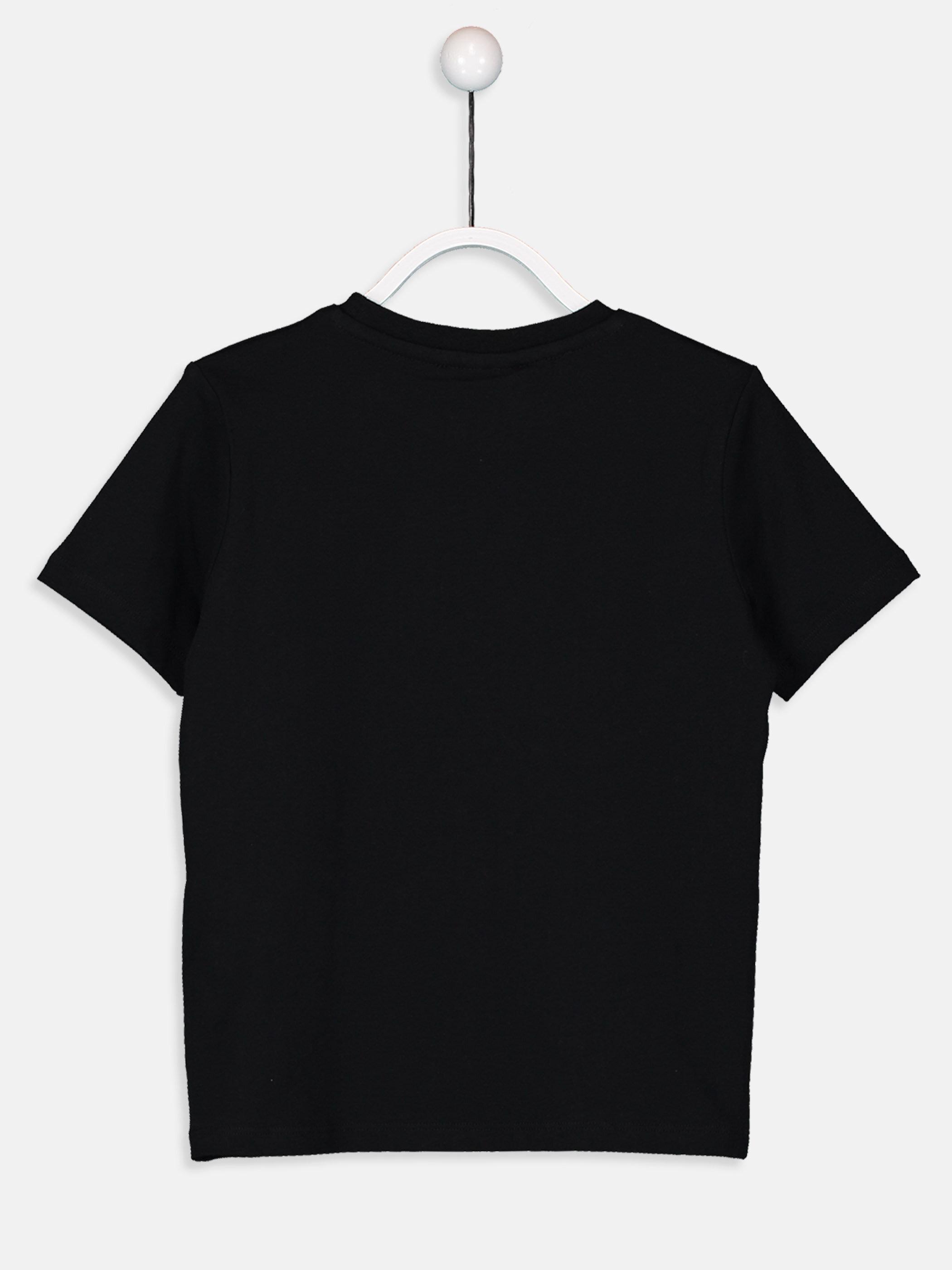 Erkek Çocuk Yazı Baskılı Pamuklu Tişört -9SJ902Z4-CVL