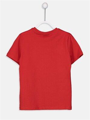 Erkek Çocuk Yazı Baskılı Pamuklu Tişört -9SJ934Z4-HMW