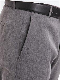%73 Polyester %3 Elastan %24 Viskoz Standart Kalıp Takım Elbise Pantolonu