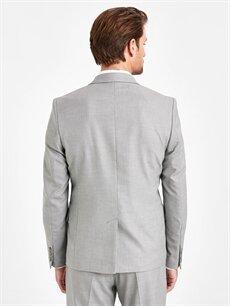 Erkek Ekstra Dar Kalıp Blazer Ceket