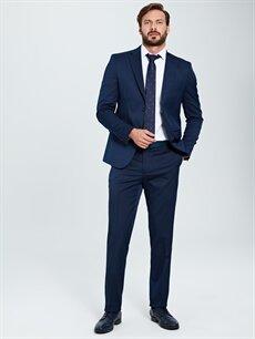 %67 Polyester %33 Viskon %100 Polyester  Standart Kalıp Akıllı Kumaş Blazer Ceket