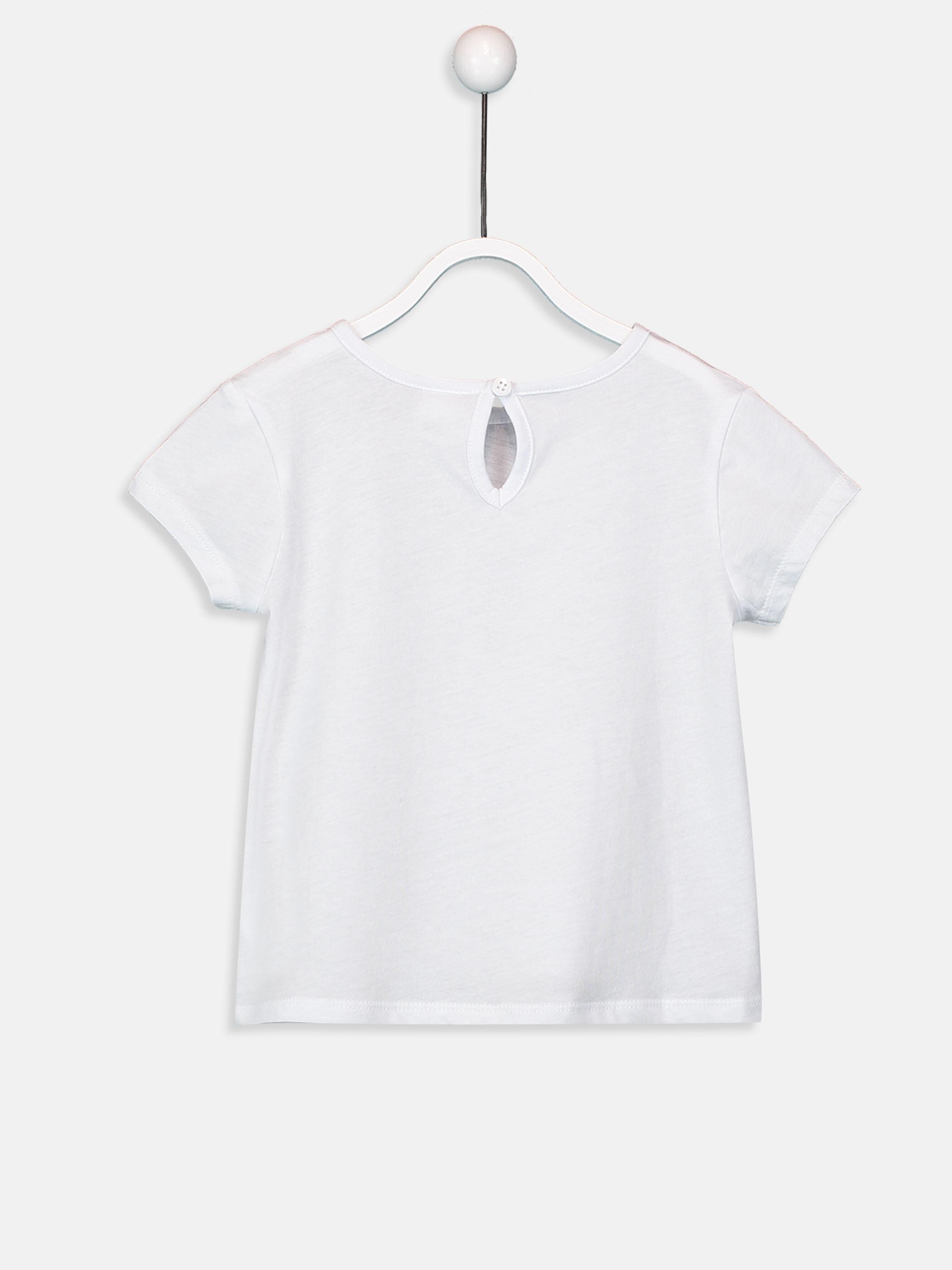 Kız Bebek Baskılı Pamuklu Tişört -9SK553Z1-J5E