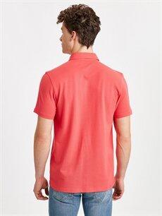 %100 Pamuk Normal Düz Kısa Kol Gömlek Düğmesiz Regular Fit Basic Kısa Kollu Pike Gömlek