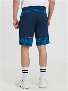 %100 Polyester Regular Fit Aktif Spor Şort