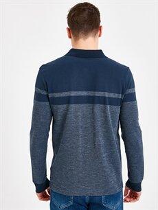 Erkek Polo Yaka Uzun Kollu Tişört