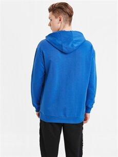 %67 Pamuk %33 Polyester  Kapüşonlu Sweatshirt