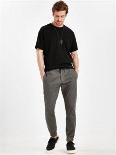 Haki Slim Fit Jogger Pantolon 9SS041Z8 LC Waikiki