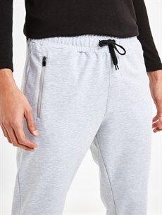 %38 Pamuk %56 Poliester %6 Elastane Slim Fit Jogger Pantolon