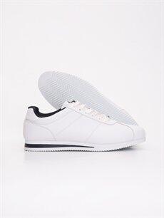 Letoon Genç Erkek Bağcıklı Beyaz Spor Ayakkabı