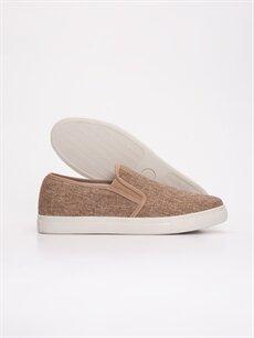 Letoon Erkek Hasır Vizon Sneaker