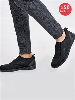 Letoon Erkek Siyah Spor Ayakkabı - Konsinye