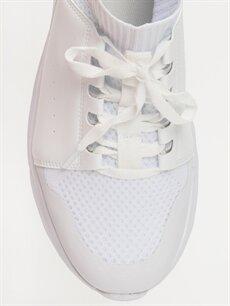 LC Waikiki Beyaz Erkek Bağcıklı Günlük Spor Ayakkabı