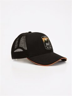 Siyah Nakış İşlemeli Şapka 9ST511Z8 LC Waikiki