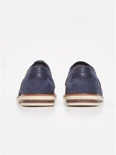 Erkek Nubuk Deri Derby Ayakkabı