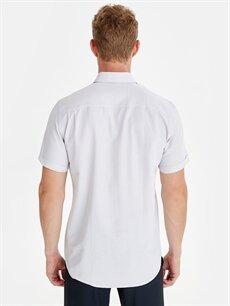 Erkek Regular Fit Kısa Kollu Gömlek