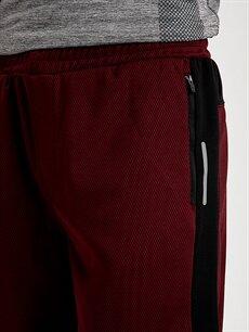 %100 Polyester Standart Kalıp Aktif Spor Şort