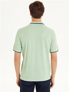 Erkek Polo Yaka Kısa Kollu Ekose Tişört