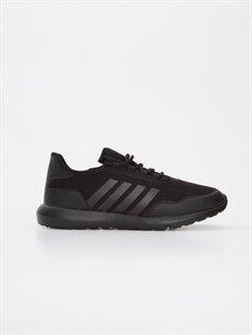Siyah Letoon Erkek Bağcıklı Spor Ayakkabı 9SY963Z8 LC Waikiki