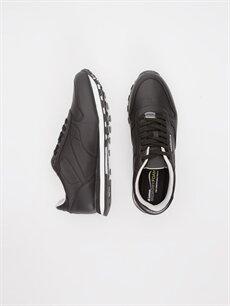 Letoon Erkek Deri Görünümlü Spor Ayakkabı