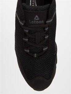 LC Waikiki Siyah Letoon Erkek Bağcıklı Spor Ayakkabı