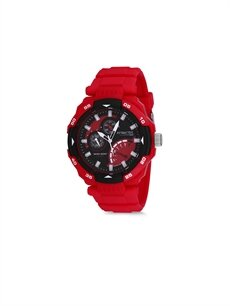 Kırmızı Q&Q DA84J004Y Erkek Kol Saati 9SC104Z8 LC Waikiki