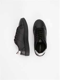 Diğer malzeme (poliüretan) Tekstil malzemeleri Ayakkabı Kadın Bağcıklı Spor Ayakkabı
