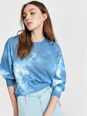 Batik Desenli Sweatshirt - LC WAIKIKI