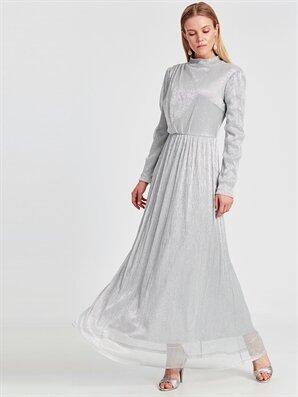 Işıltılı Uzun Abiye Elbise - LC WAIKIKI