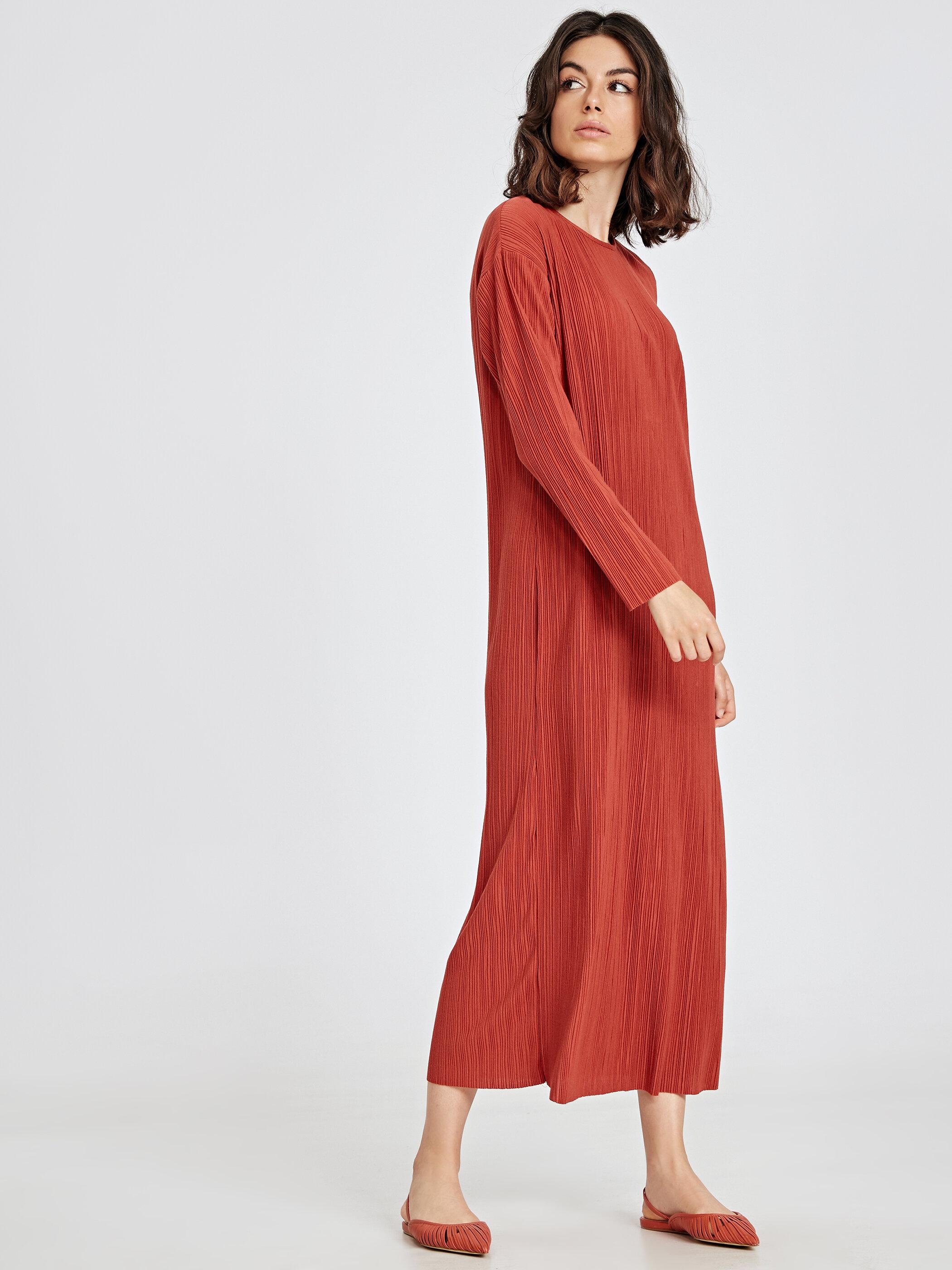 Uzun Pilili Elbise -9SQ268Z8-GXS